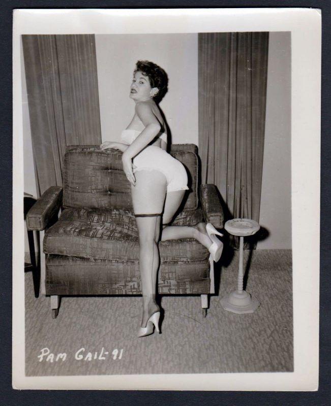 new product 3da31 64afe 1950 Unterwäsche Pam Gail lingerie Erotik nude vintage Dessous pin up Foto  photo