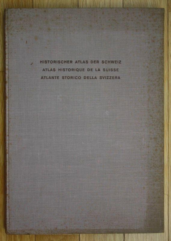 1951 Hektor Ammann Karl Schib Historischer Atlas der Schweiz