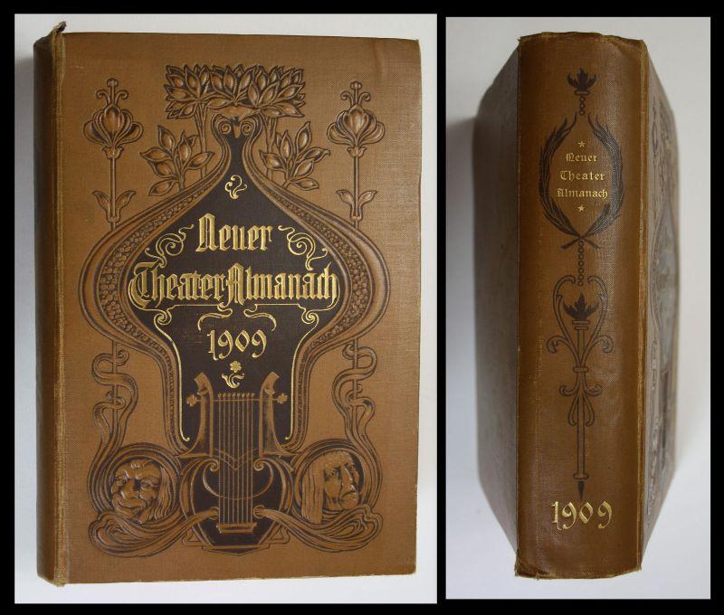 1909 Neuer Theater-Almanach Ludwig Dessoir Julie Rettich Schauspieler