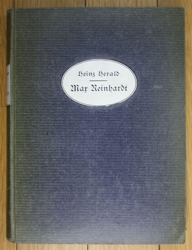 1915 Heinz Herald Max Reinhardt Musik Ein Versuch über das Wesen modernen Regie