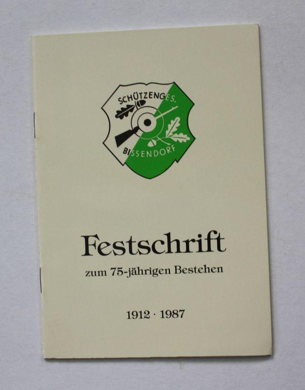 1987 Festschrift zum 75-jährigen Bestehen 1912-1987 Geschichte Landeskunde