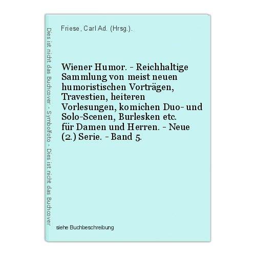Wiener Humor. - Reichhaltige Sammlung von meist neuen humoristischen Vortr 39936