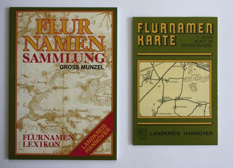 1994 H. Weber Flurnamenlexikon zur Flurnamenkarte Gross Munzel Niedersachsen
