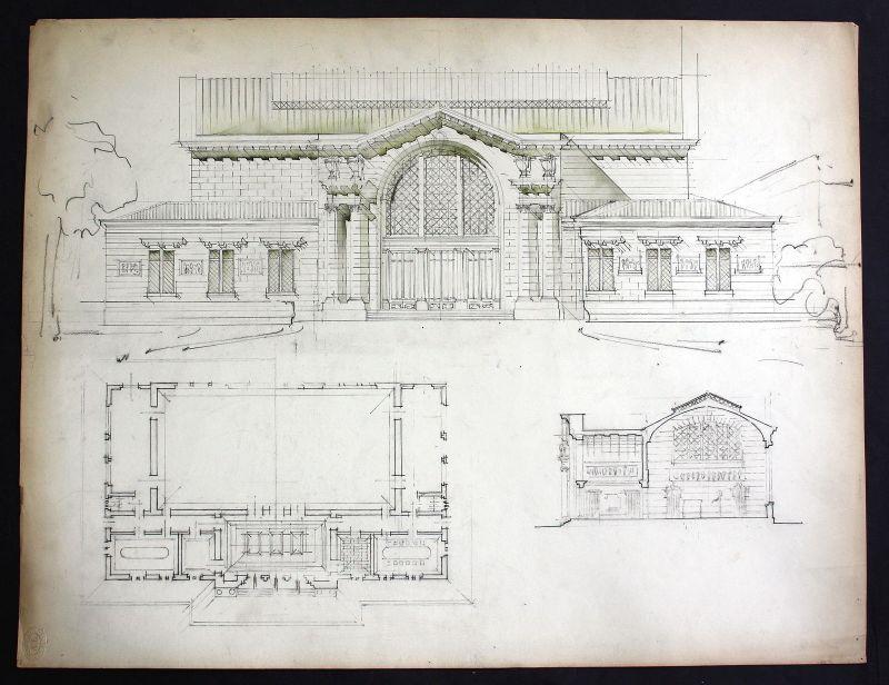 Building Gebäude Draufsicht Architektur architecture design Zeichnung drawing