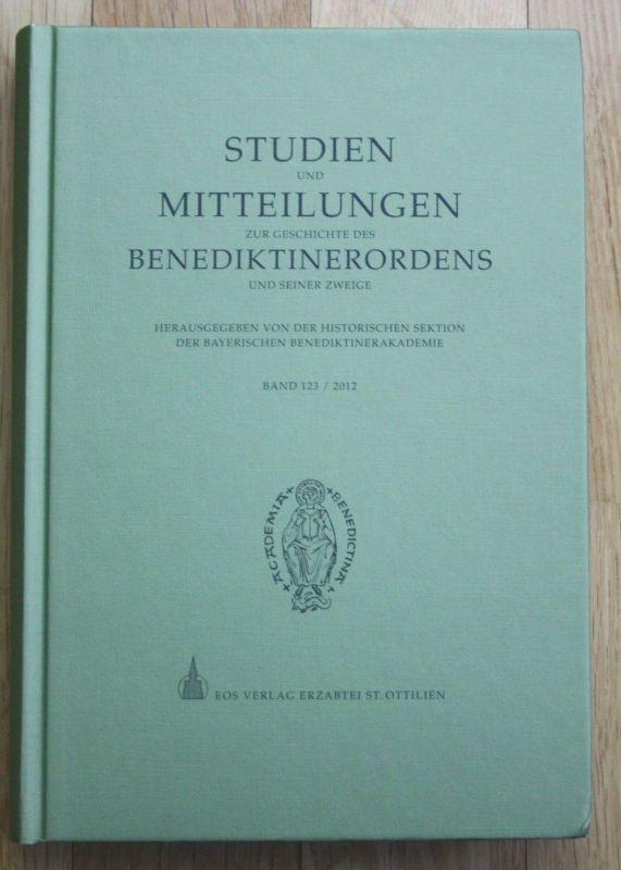 2012 - Studien und Mitteilungen zur Geschichte Benediktinerordens Benediktiner