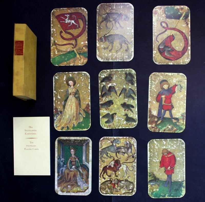 Das Stuttgarter Kartenspiel Stuttgart Playing Cards 1979 Spielkarten Faksimile