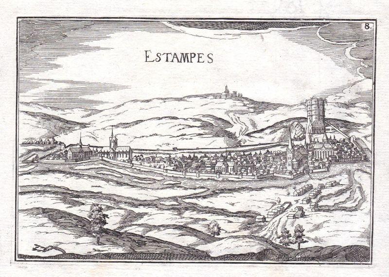 1630 Estampes Midi-Pyrenees France gravure estampe Kupferstich Tassin