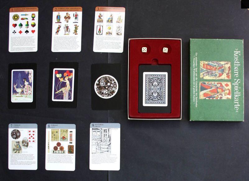 Kostbare Spielkarte 1975 Spielkarten Spiel Kartenspiel game playing cards
