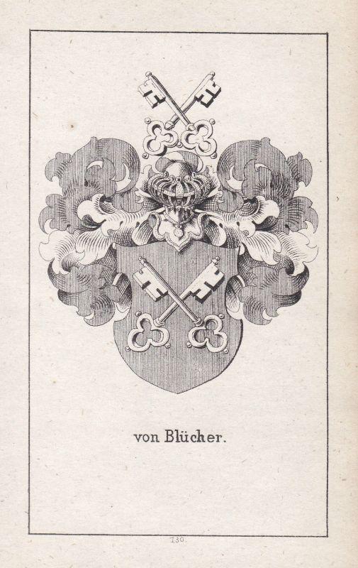 Mecklenburg Blücher Mecklenburg-Vorpommern Wappen Heraldik coat of arms Adel