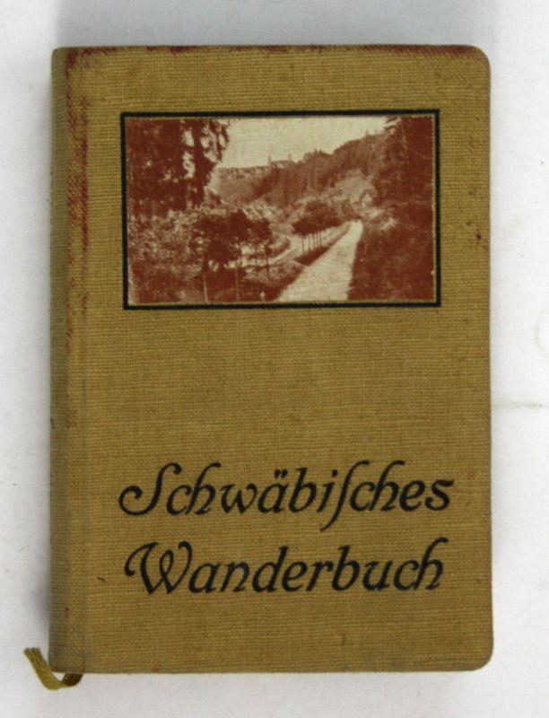 1910 Gustav Ströhmfeld Wanderbuch Eisenbahn Wanderführer Schwaben Wandern