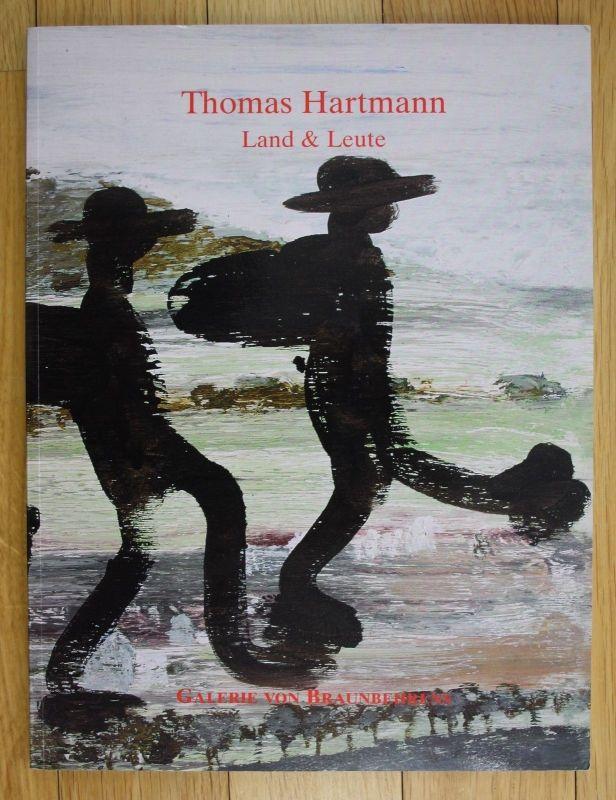 2001 Thomas Hartmann Land und Leute Katalog Ausstellung