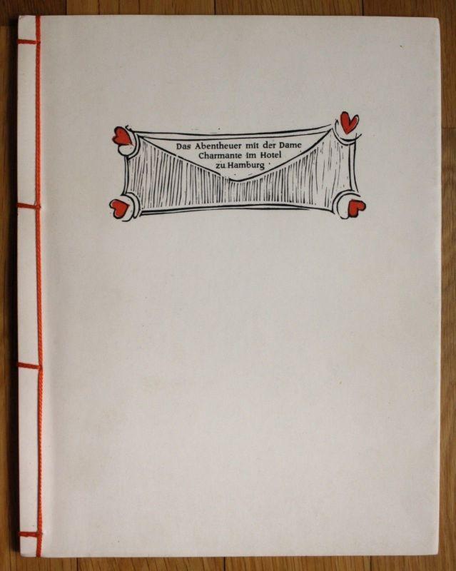 1959 Ilse Klingbiel Augsburg Werkkunstschule Pressendruck 25 Exemplare signiert
