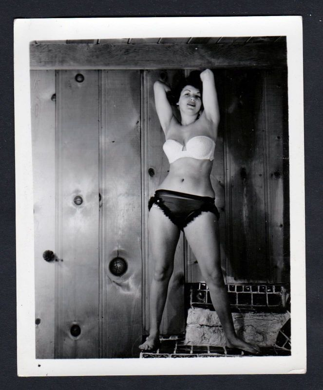 1960 Unterwäsche lingerie Erotik nude pin up vintage Dessous Foto photo