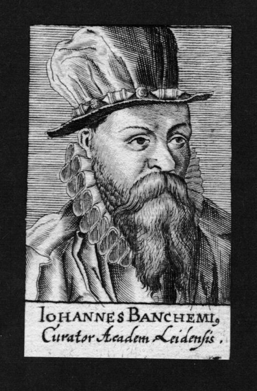 1680 - Jan van Bankhem Jurist lawyer Kurator Leiden Holland Kupferstich Portrait