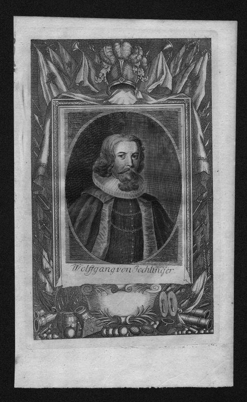 1720 - Wolfgang von Jochlinger Österreich Jurist engraving Kupferstich Portrait