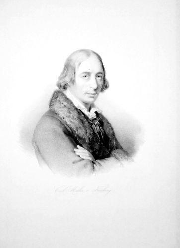 1860 - Karl von Müller-Friedberg St. Gallen Portrait