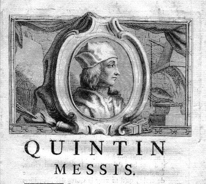 1750 - Quentin Massys painter Maler Portrait Kupferstich gravure engraving