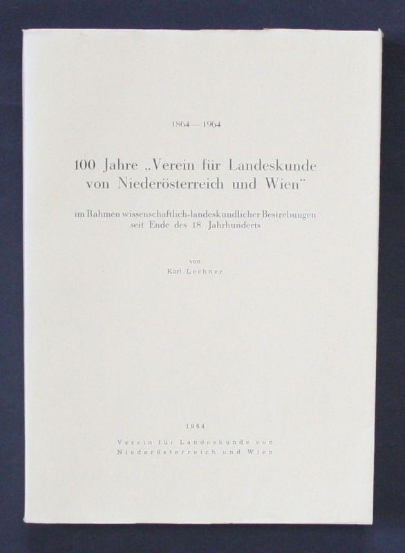 1964 - Karl Lechner 100 Jahre