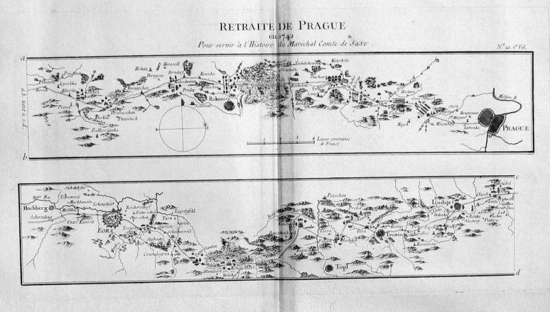 1770 - Prag Praha map Karte Kupferstich czech Bohemia engraving