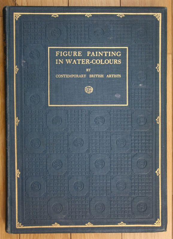 1923 George Sheringham Figure painting in water colours british artists