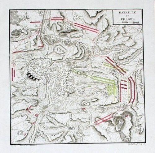 1780 - Prag Praha Battle map