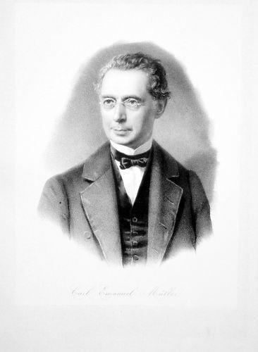 1860 - Karl Emanuel Müller Altdorf Architekt Portrait