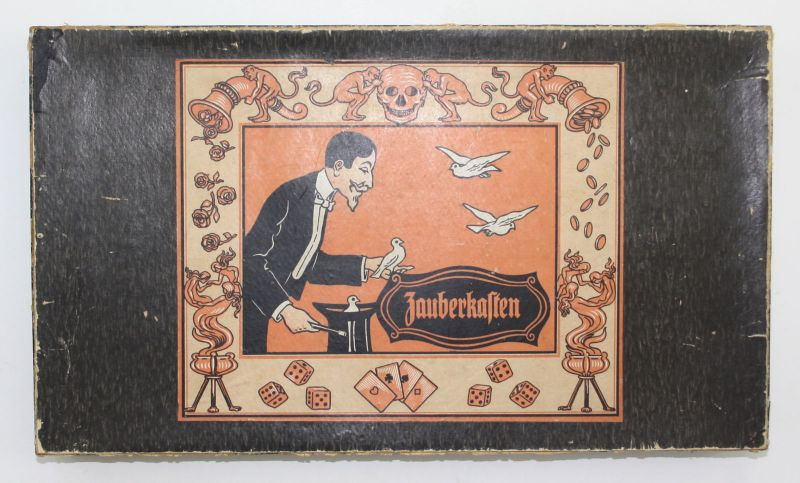 1920 Zauberkasten Magic kit conjuring tricks Zauberei zaubern Magie Zaubertricks