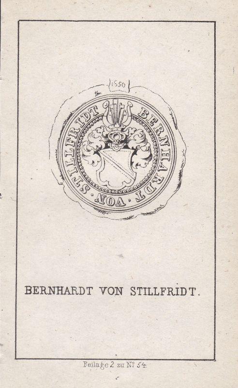 Stillfried-Rattonitz Böhmen Tschechien Czech Wappen Heraldik coat of arms Adel