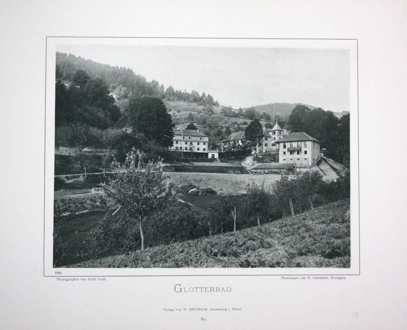 1896 Glottertal Breisgau-Hochschwarzwald Foto Fotografie photo Schwarzwald Luib