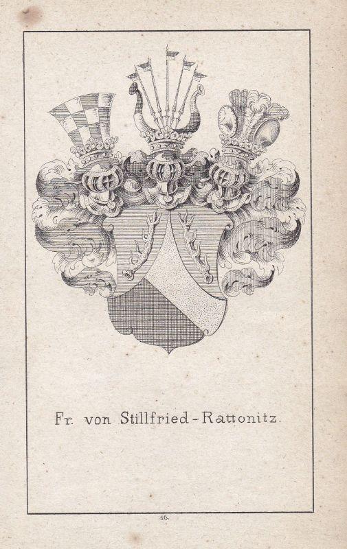 Stillfried-Rattonitz Czech Böhmen Tschechien Wappen Heraldik coat of arms Adel