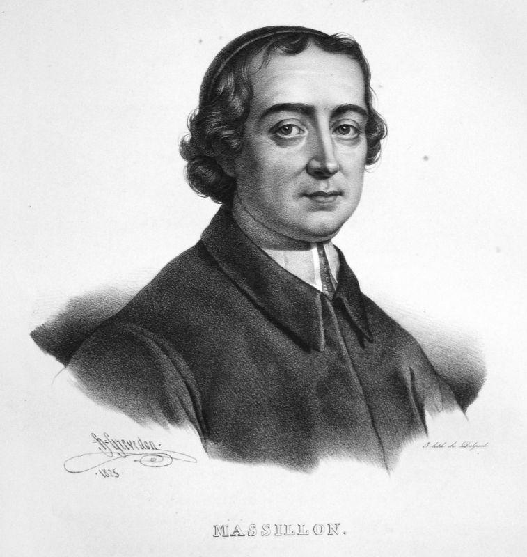 1860 Jean-Baptiste Massillon Prediger prédicateur preacher Grevedon Portrait