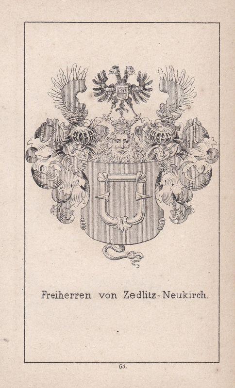 Zedlitz-Neukirch Zedlitz Schlesien Silesia Wappen Heraldik coat of arms Adel