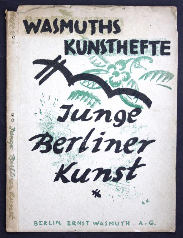 1919 Adolph Köglsperger Junge Berliner Kunst Wasmuths Kunsthefte Lithographie