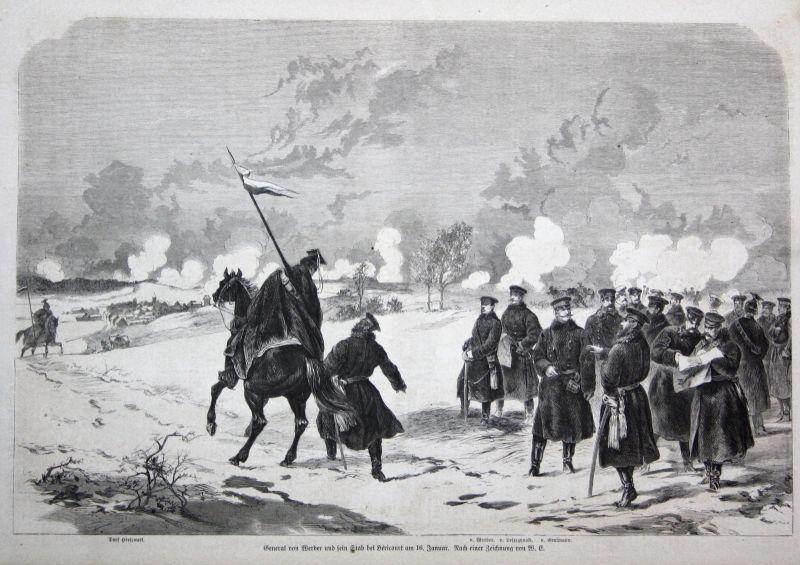 1871 August von Werder General Stab Hericourt 16 Januar Schloßberg Norkitten