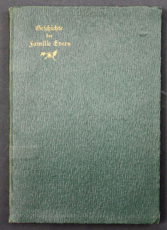 1913 Karl Evers Geschichte der Familie Evers Genealogie Stammbaum