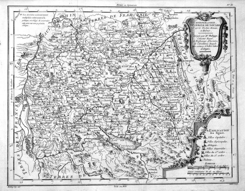1782 Bodensee Konstanz Stuttgart Biberach Reutlingen Heilbronn Philippe Vallet