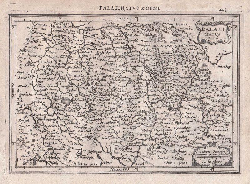Deutschland Germany Heilbronn Darmstadt Heidelberg Mannhein map Karte Mercator