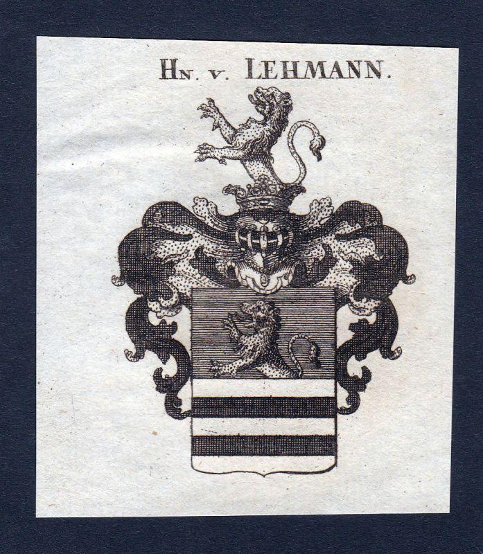 1820 Helffreich Württemberg Wappen Adel coat of arms Kupferstich engraving