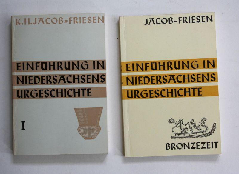 1963 Jacob-Friesen Einführung in Niedersachsens Urgeschichte Geschichte