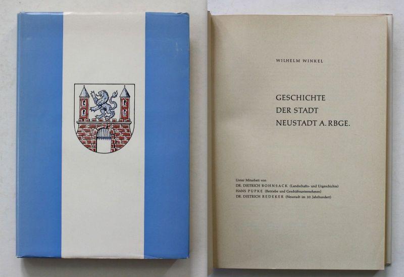 1966 W. Winkel Geschichte der Stadt Neustadt Chronik Landeskunde