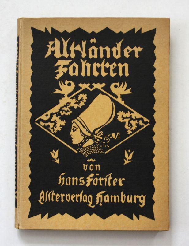 1924 Hans Förster Altländer Fahrten Altland Geschichte Landeskunde