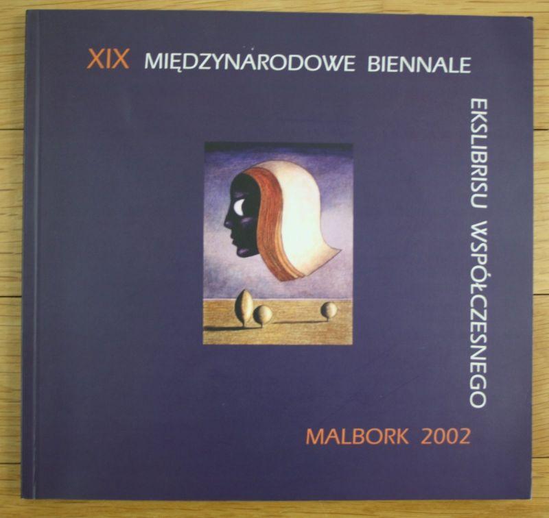 2002 Miedzynarodow Biennale Ekslibrisu Wspolczesnego International Exlibris