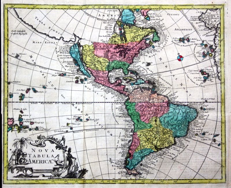 World map America Asia Europe Africa continents set of 5 maps chart Kilian 2