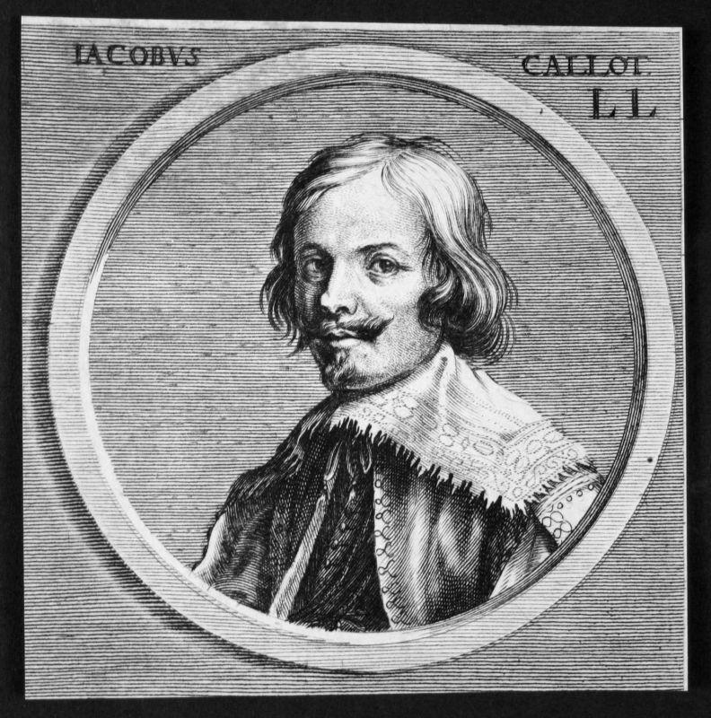 Jacques Callot Maler painter Zeichner draftsman Kupferstich etching Portrait