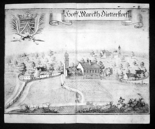 1720 - Dietersdorf b. Moosburg Isar Niederbayern Wening