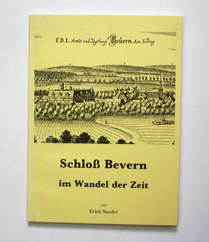 Sander Schloß Bevern im Wandel der Zeit 1990 Chronik Landeskunde Geschichte