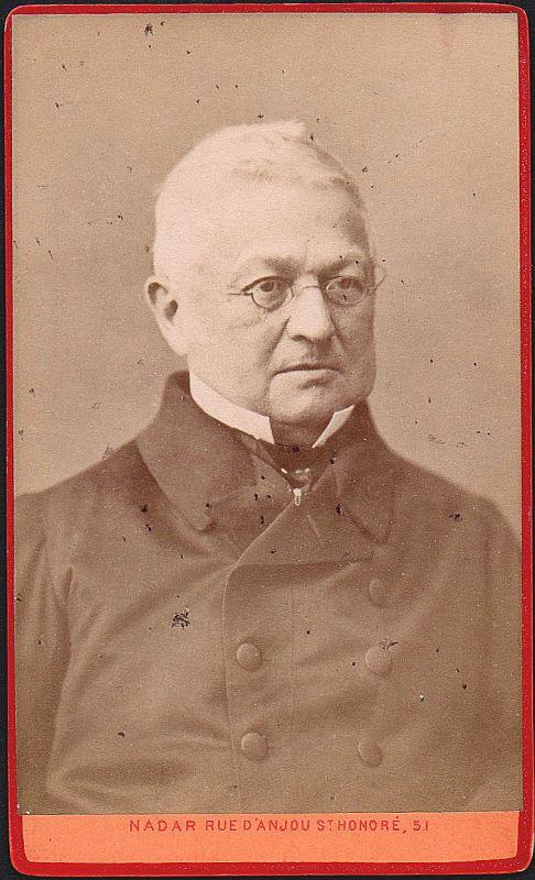 Adolphe Thiers Politiker politician politicien Portrait CDV Foto Photo 1880