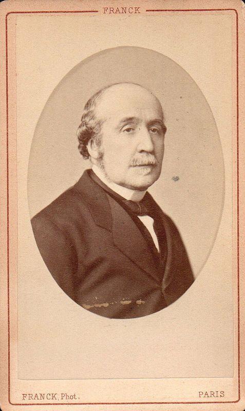 Albert de Broglie Politiker politicien Historiker Portrait CDV Foto Photo 1880