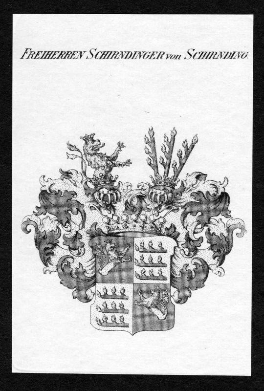 1820 - Schirnding Schirndinger Wappen Adel coat of arms heraldry Heraldik