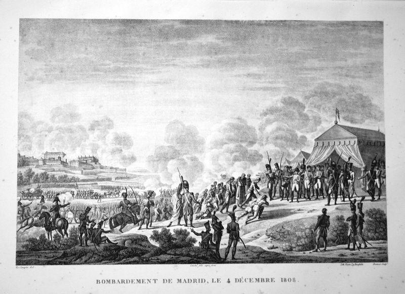 Madrid Spanien Spain Espana Napoleon Schlacht battle bataille battaglia
